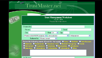 Low Cost Trusts, Trust Information, and Trust Forms Website
